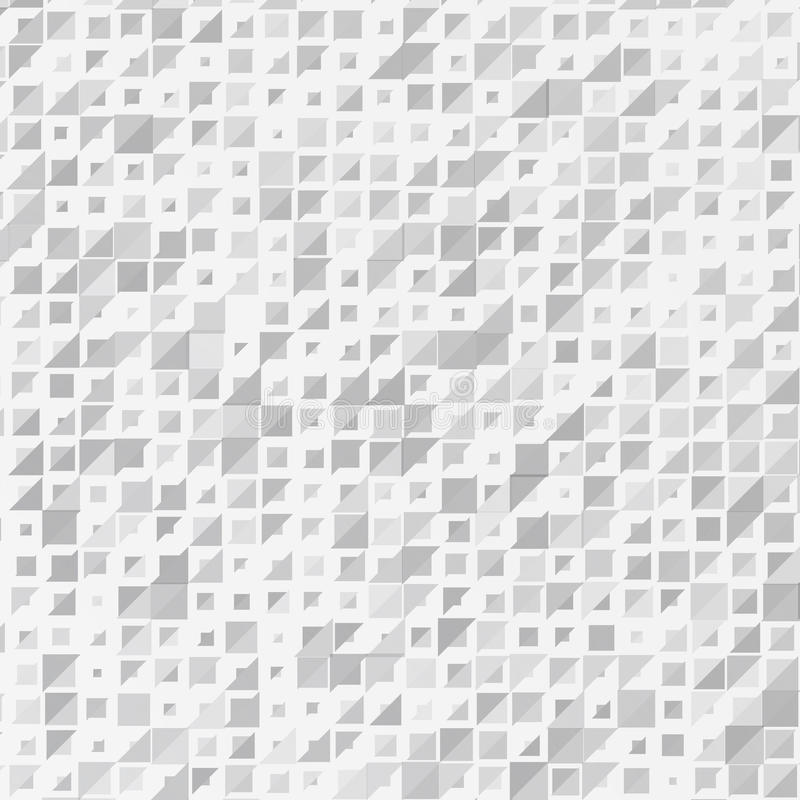 Vector abstract background. triangle white stock illustration