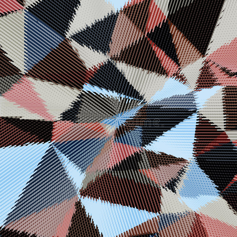 Vector abstract background. Abstract background with triangles and colorful geometric shapes. Texture pattern for covers, banners, booklets, etc. For web or royalty free illustration