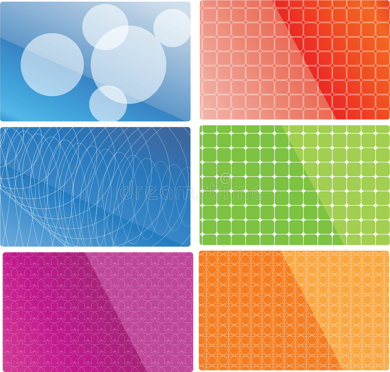 Vector abstract backgrounds royalty free illustration