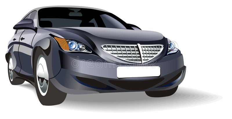 Vector abstract car vector illustration