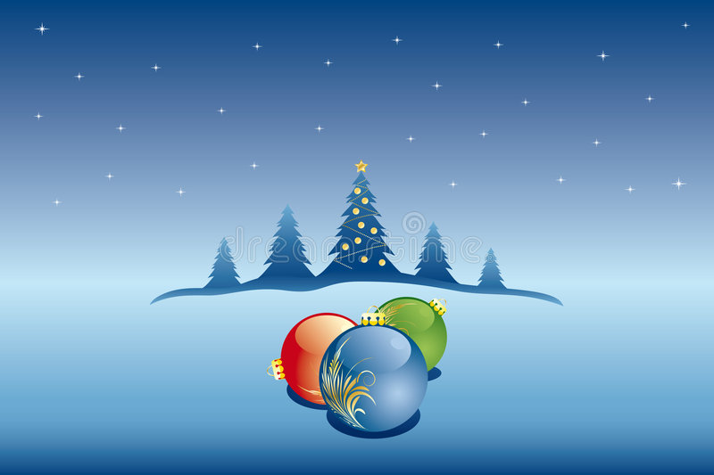 Download Vector Abstract Christmas Background Stock Vector - Image: 7357476