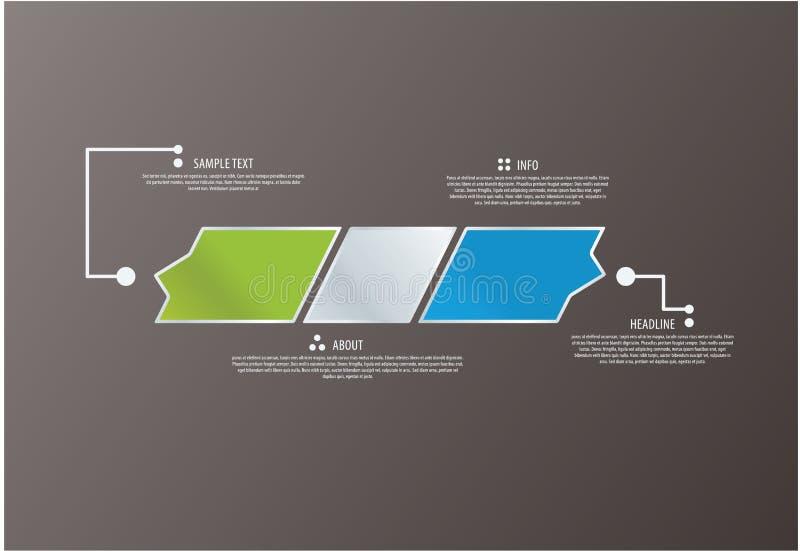 Vector abstract collectief embleem. Kan als grafische informatie worden gebruikt. royalty-vrije illustratie