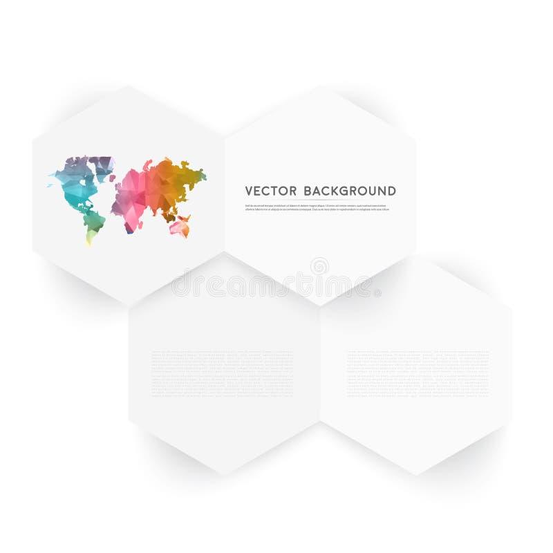 Free Vector Abstract Color 3d Hexagonal Royalty Free Stock Photos - 53439768
