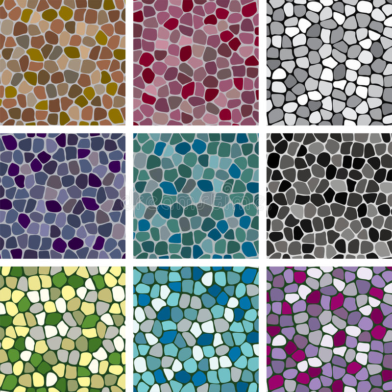 Free Vector Abstract Colorful Tile Backgrounds Royalty Free Stock Photo - 22645965