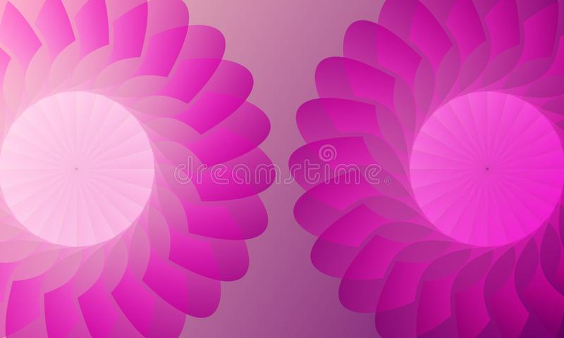 Vector abstract colourfull wavy background, wallpaper. Brochure, design. royalty free illustration