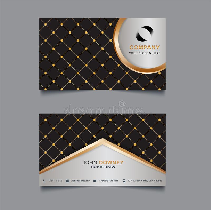 Vector abstract creative business cards Template Double sided. Vector Illustration vector illustration