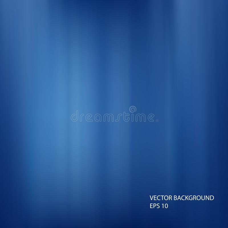 Vector abstract design blue color background. General illustration royalty free illustration