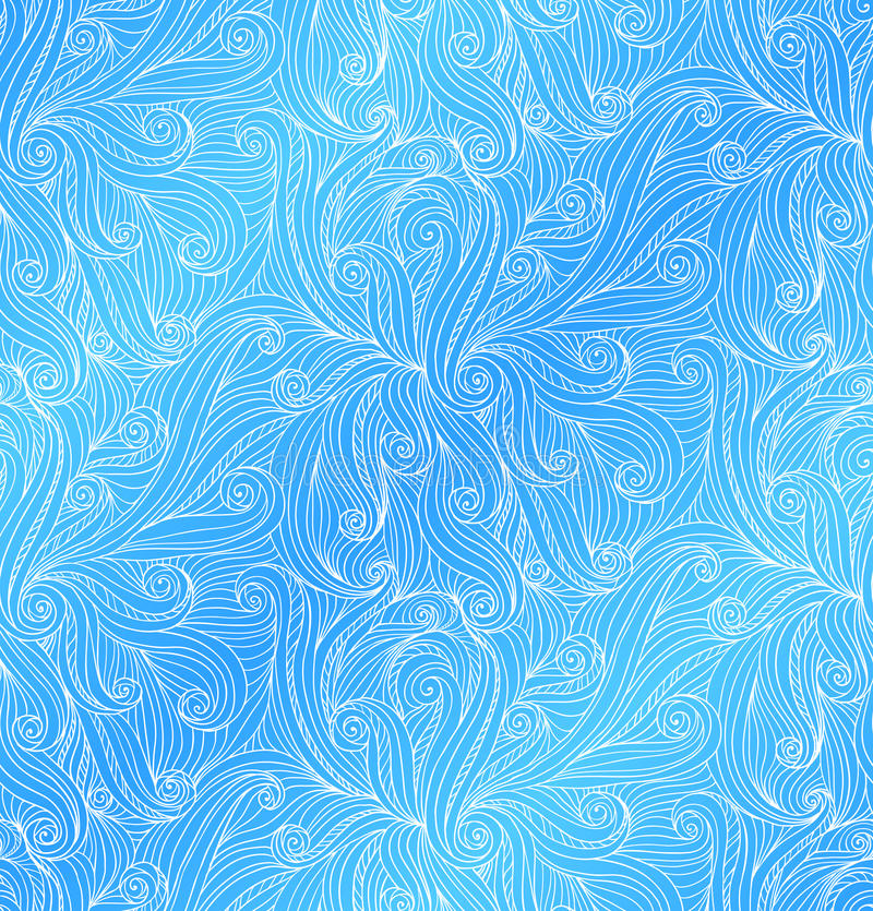Download Vector Abstract Doodle Seamless Pattern Stock Illustration - Image: 28000414