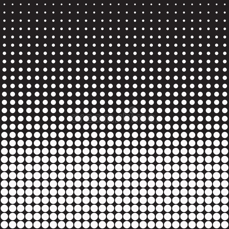 Vector abstract dots background stock illustration