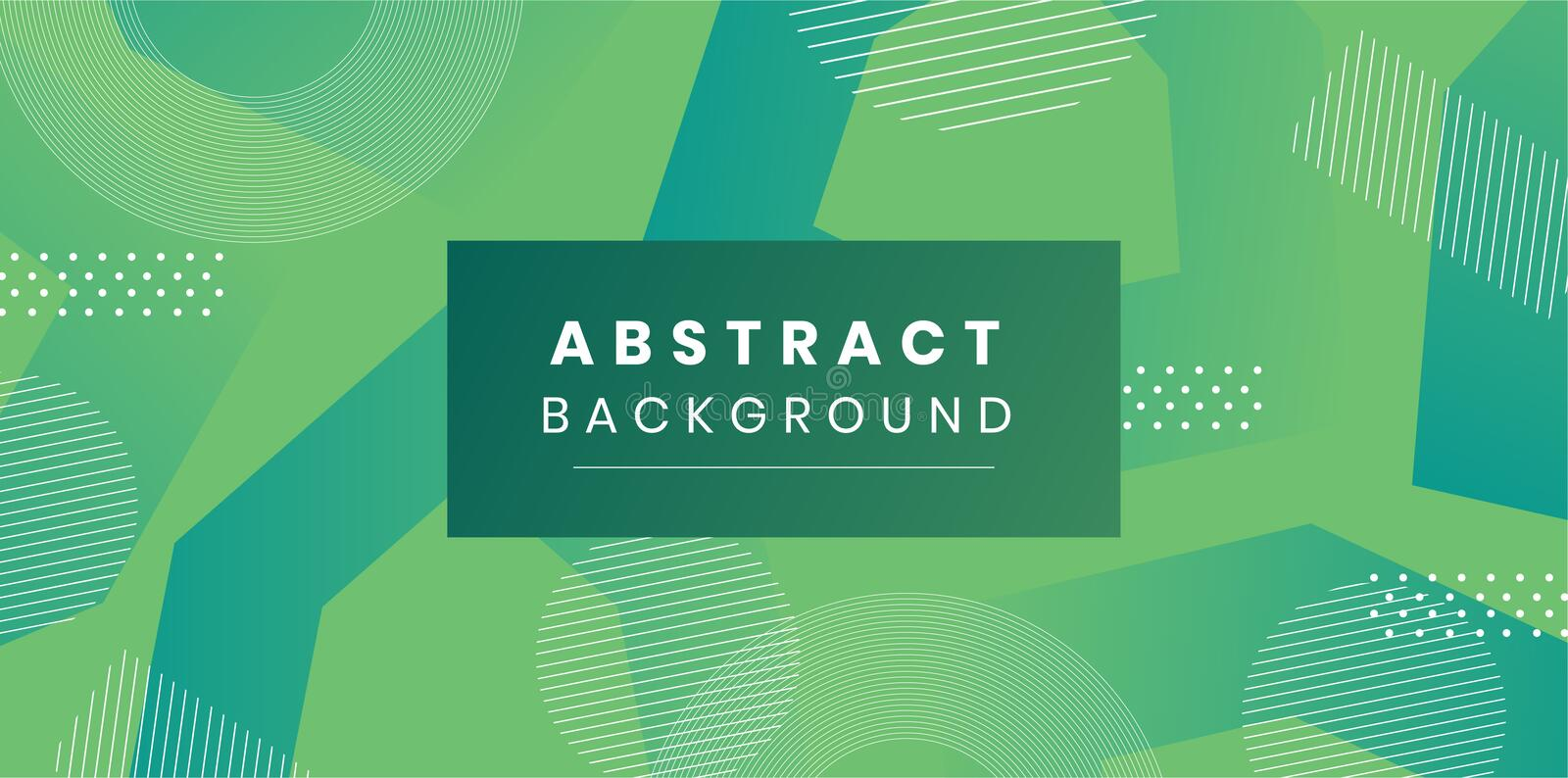 Vector Abstract Elegant green Background stock illustration