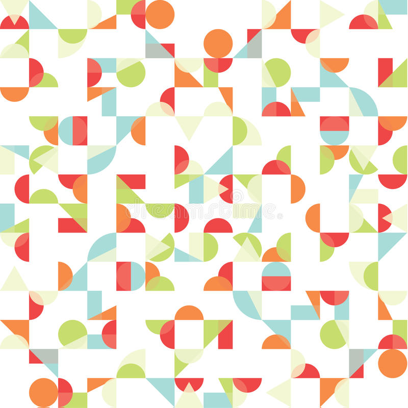 Vector Abstract Funky Background. Seamless Pattern ...