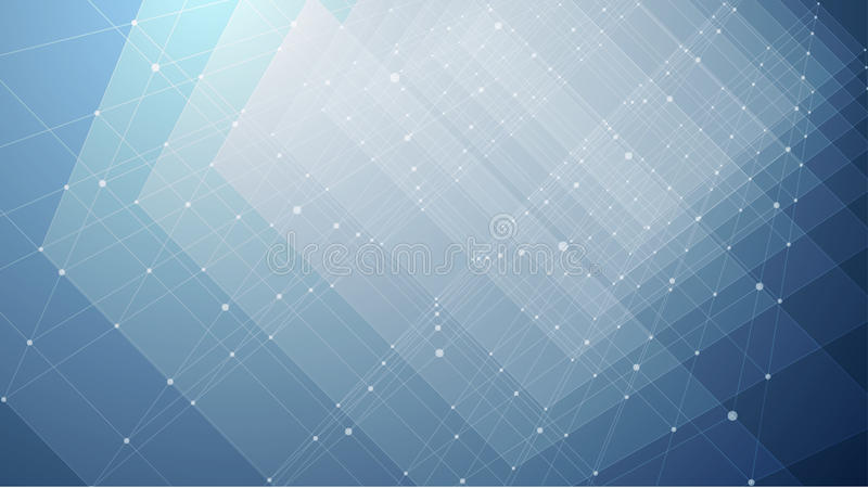 Vector Abstract futuristic background stock illustration