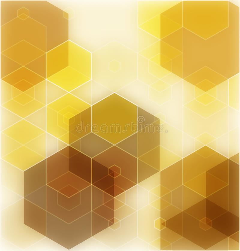 Vector Abstract geometric background. Template brochure design. stock illustration