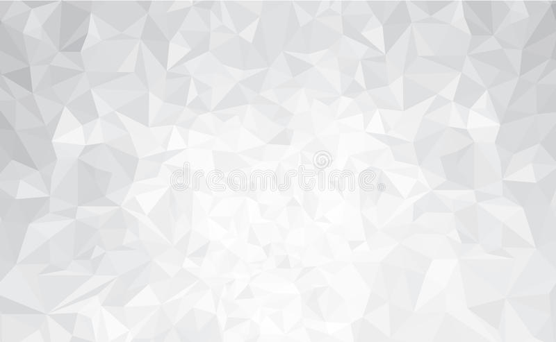 Vector abstract gray, triangles background. stock illustration