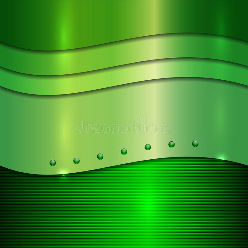 Free Vector Abstract Green Metallic Background Royalty Free Stock Photo - 34841115