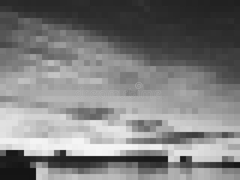 Vector Abstract Grey Monochrome Background vector illustratie