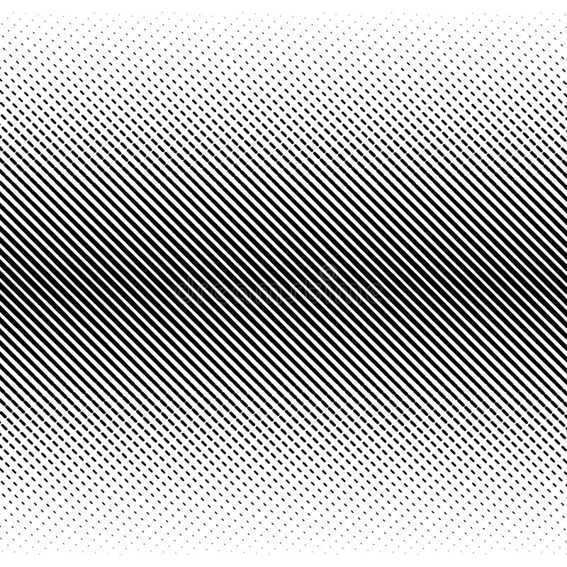 Vector abstract halftone black background. Gradient retro pattern design. Monochrome graphic stock illustration