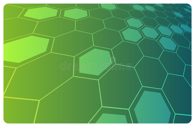 Vector abstract hi-technology background vector illustration