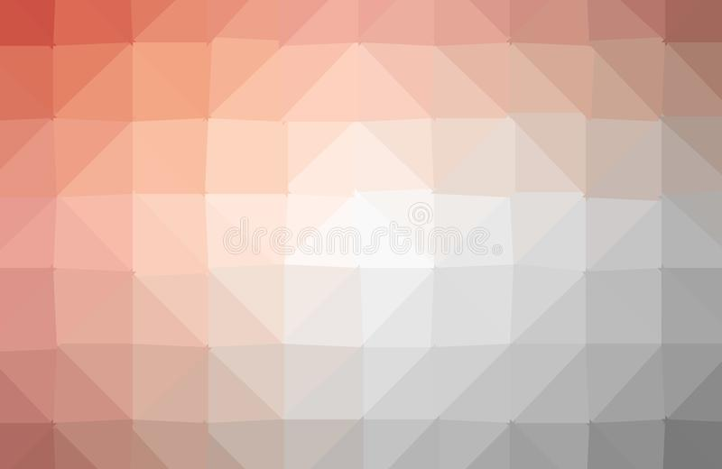 Vector abstract irregular polygon background with a triangle pattern in full multi color vector illustration