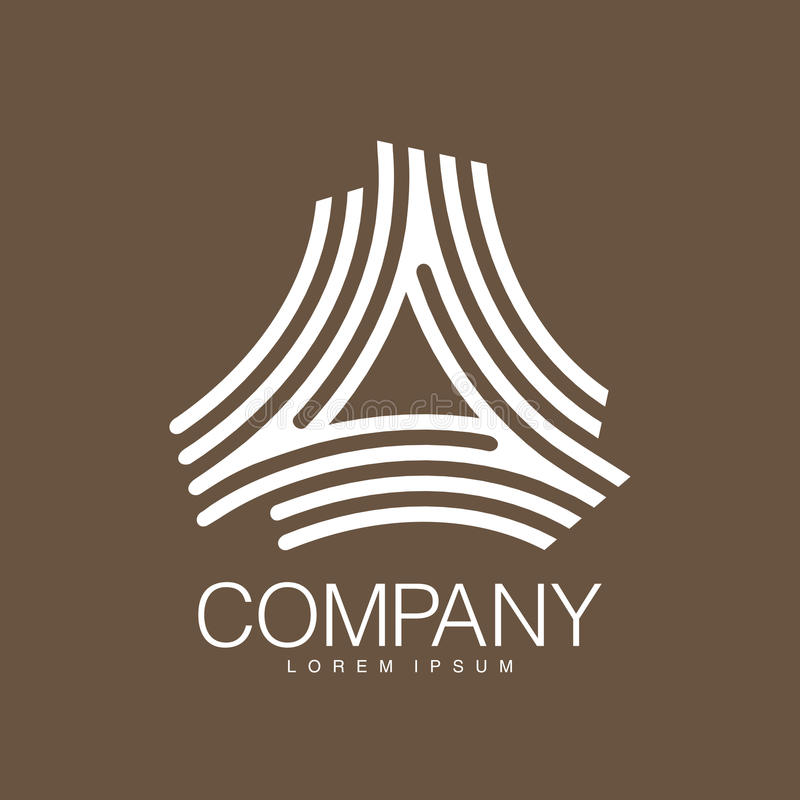 Vector abstract logo. Business Icons. Company identity. Icon isolated on white background. Graphic design for your design vector illustration