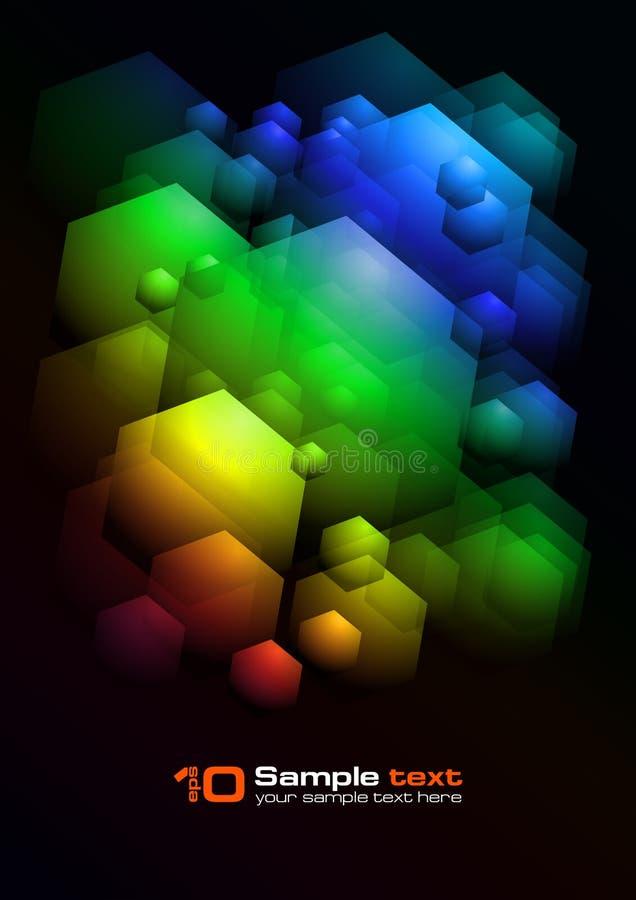 Vector abstract ontwerp royalty-vrije illustratie