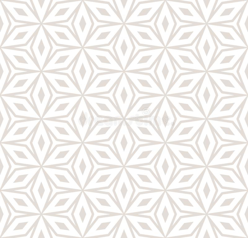 Vector abstract ornament seamless pattern in pastel colors, flowers. vector illustration