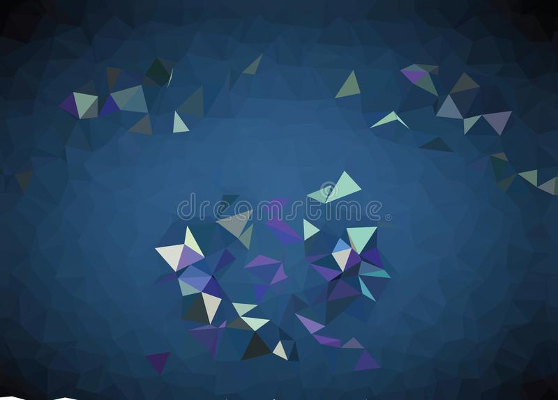 Vector abstract polygonal background. Creative vector clip art . Graphic resource for your design works. Creative abstract vector colorful background with an vector illustration