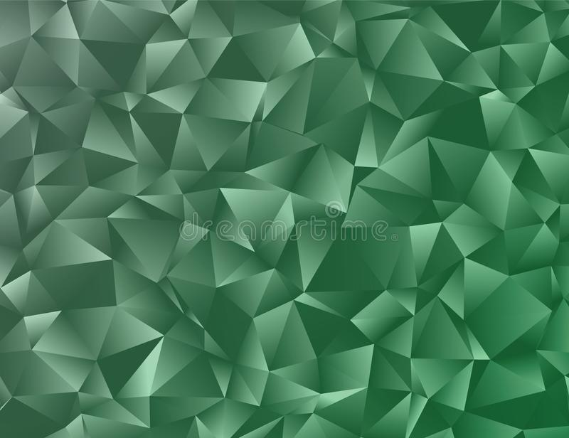 Vector abstract polygonal background. Creative vector clip art with triangles. Graphic resource for your design works. Creative abstract vector colorful vector illustration