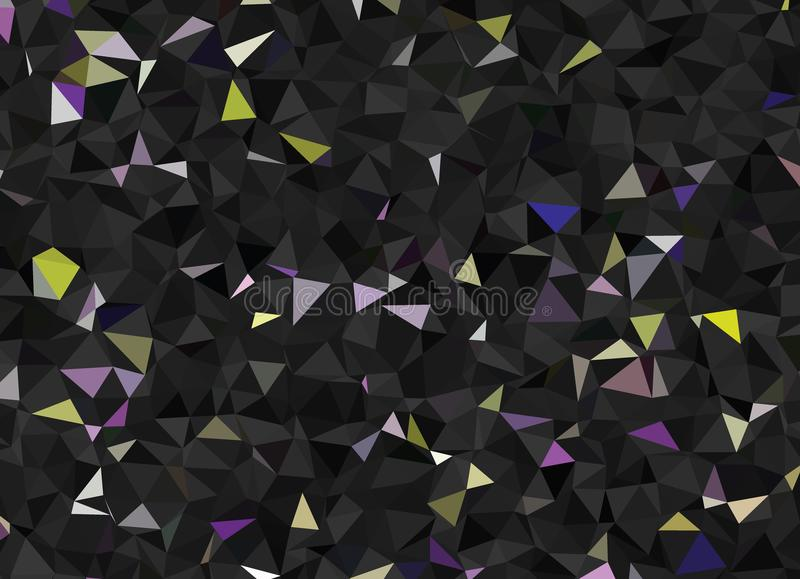 Vector abstract polygonal background. Creative vector clip art with triangles. Graphic resource for your design works. Creative abstract vector colorful stock illustration