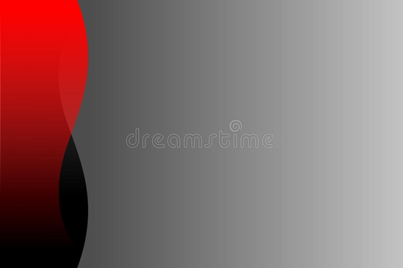 Download Vector Abstract Red Black And Grey Wavy Background Wallpaper Stock