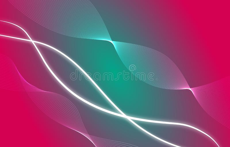 Vector Abstract red, green, white wave blend design, background. Abstract background. Overlay illustration over any design to create grungy vintage effect and stock illustration