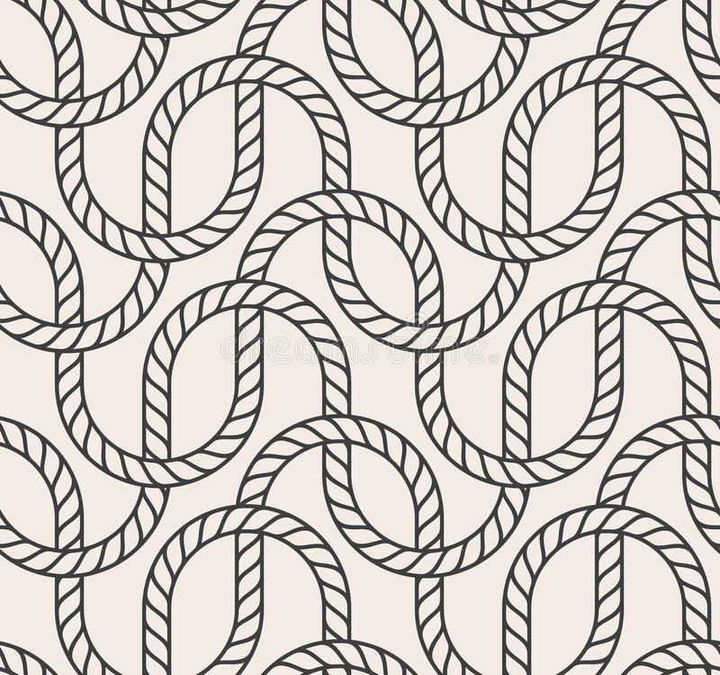 Vector abstract seamless background. Line pattern stock illustration
