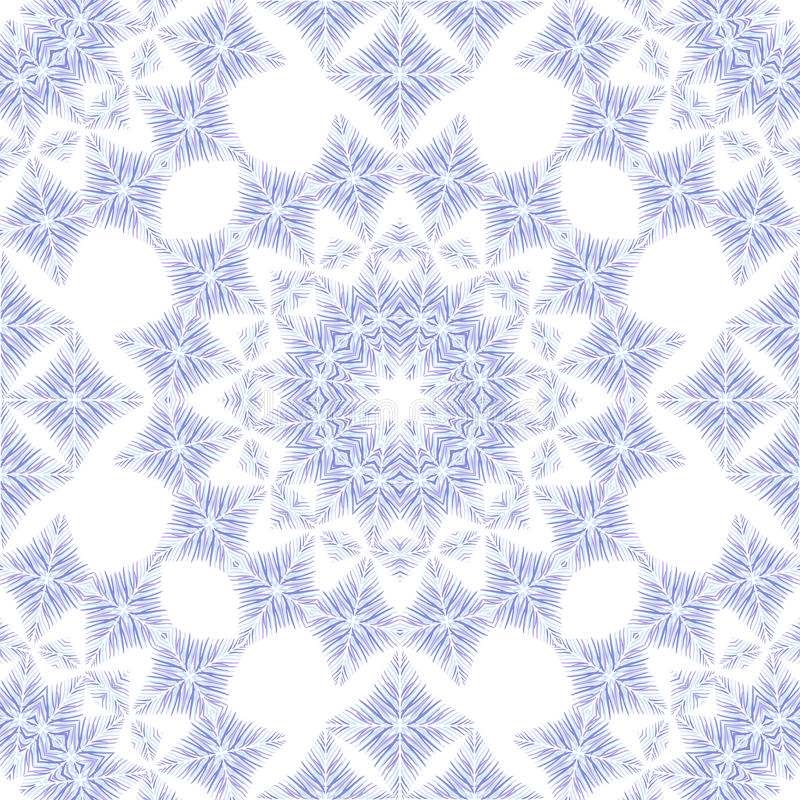 Vector abstract seamless pattern royalty free illustration