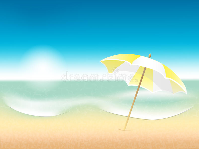Download Vector Abstract Summer Poster With Beach Backgroun Stock Vector - Image: 32121038