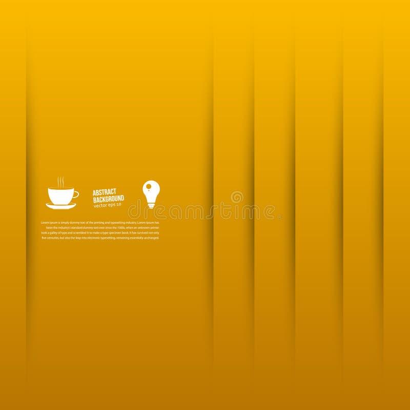 Vector abstracte achtergrond. Vierkant en stock illustratie