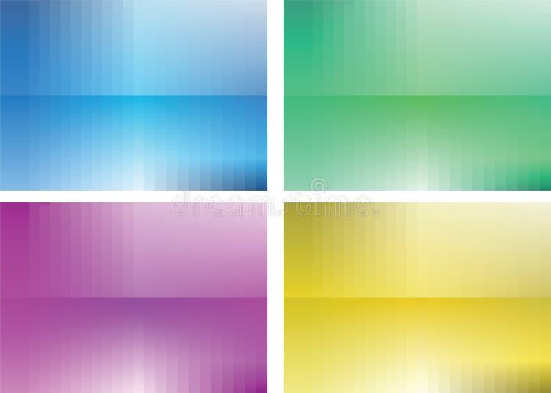 Vector abstracte achtergronden stock fotografie