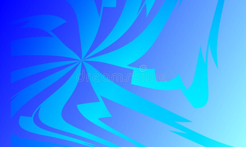 Vector abstracte colourfull golvende achtergrond, behang Brochure, ontwerp royalty-vrije illustratie