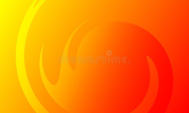 Vector abstracte colourfull golvende achtergrond, behang Brochure, ontwerp stock illustratie