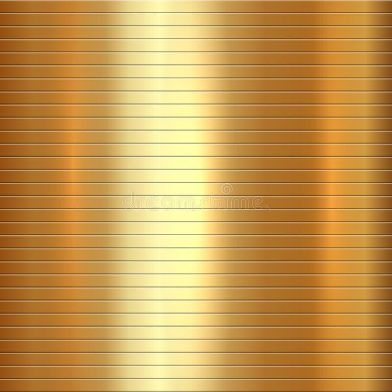 Vector abstracte gouden textuur vierkante achtergrond vector illustratie