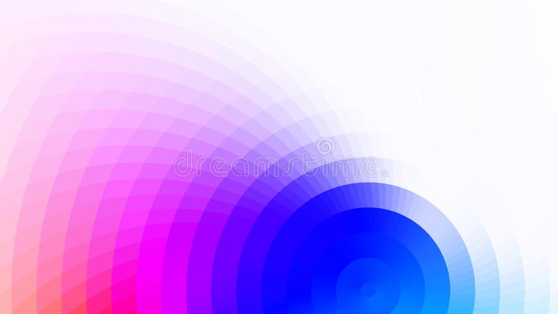 Vector abstracte heldere kleurrijke achtergrond vector illustratie