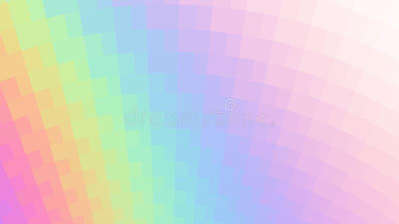 Vector abstracte holografische achtergrond vector illustratie