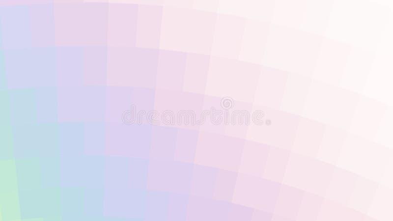 Vector abstracte holografische achtergrond royalty-vrije illustratie