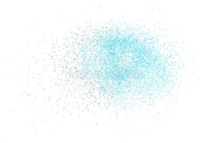 Vector abstracte verfnevel royalty-vrije illustratie