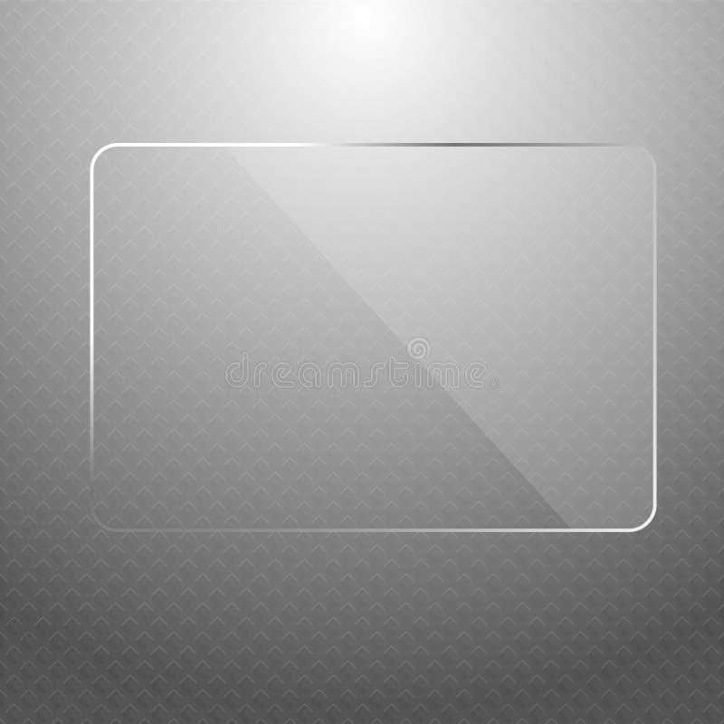Vector abstracte zilveren technologieachtergrond royalty-vrije illustratie