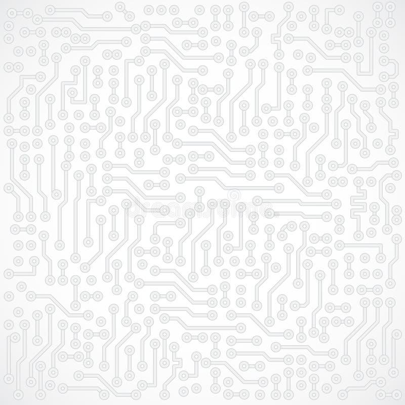Vector abstracto cuadrado gris claro electrónico libre illustration