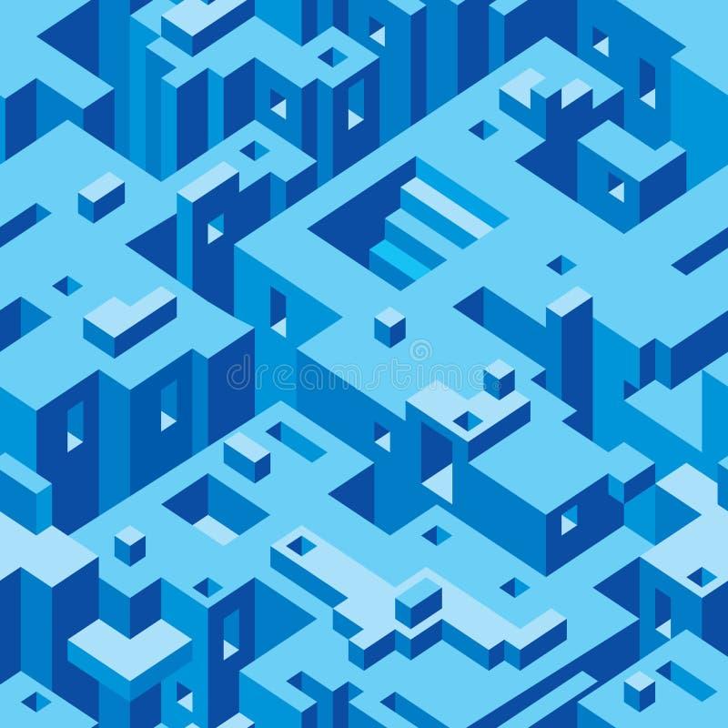 Vector abstracto de la arquitectura stock de ilustración