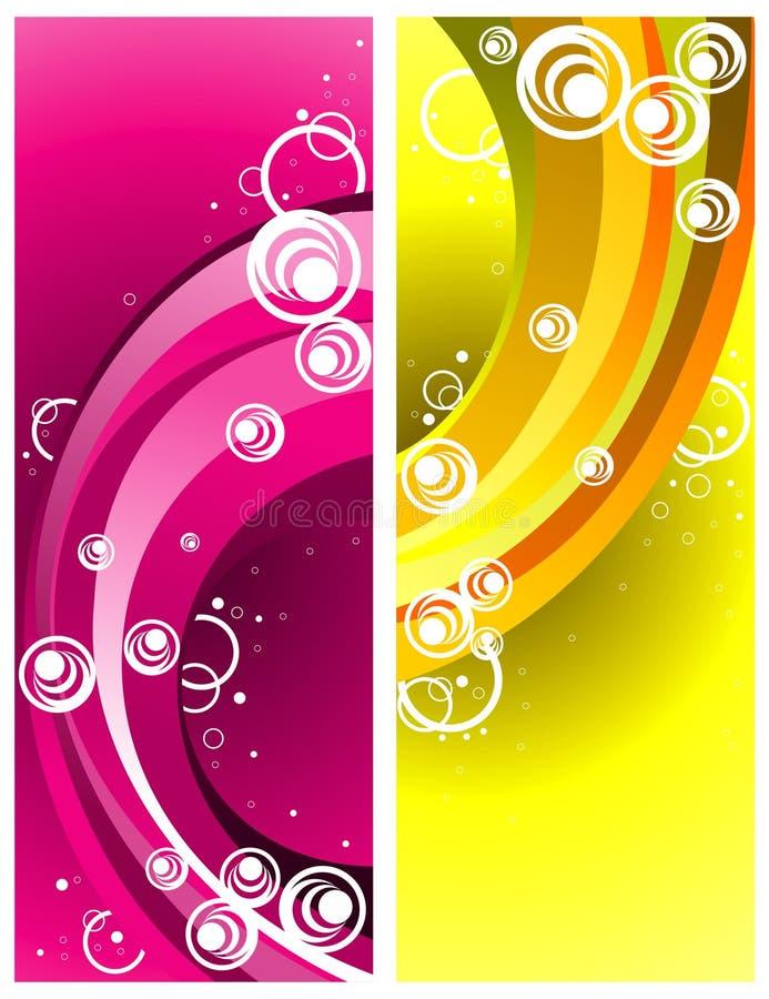 Vector abstracto de las curvas libre illustration