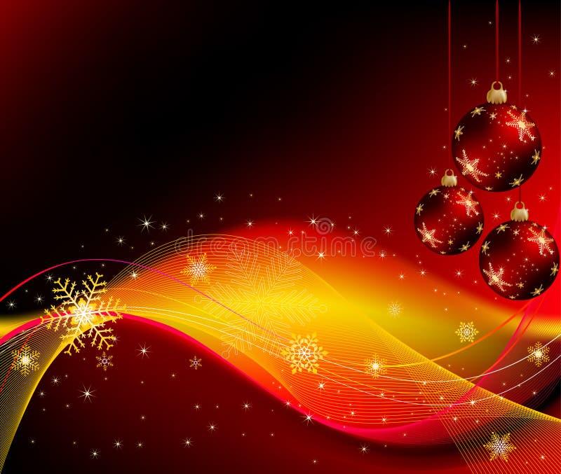 Vector abstracto del fondo de la Navidad ilustración del vector