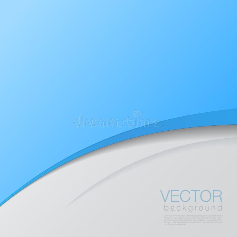 Vector abstracto del fondo. Templa creativo del diseño ilustración del vector