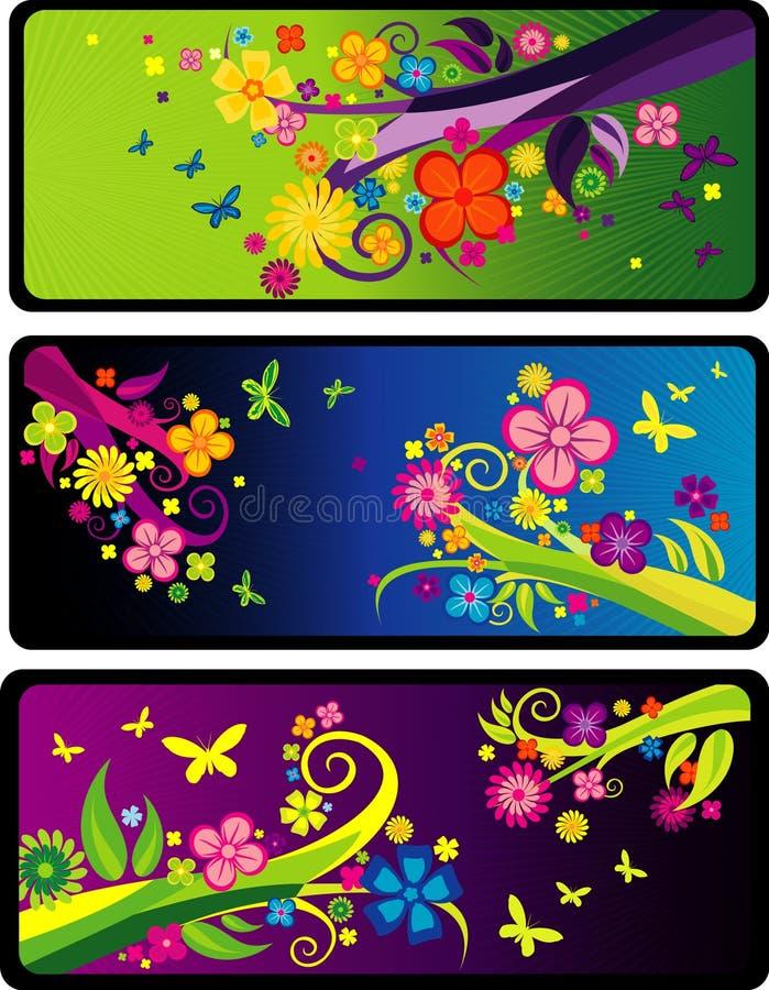 Vector abstracto floral libre illustration